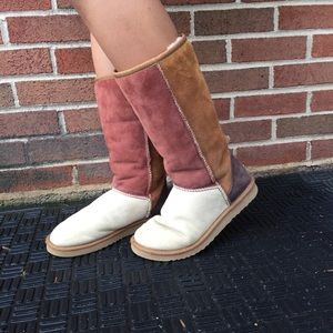 Uggs multicolored boots